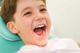 mantener los dientes sanos en los niños